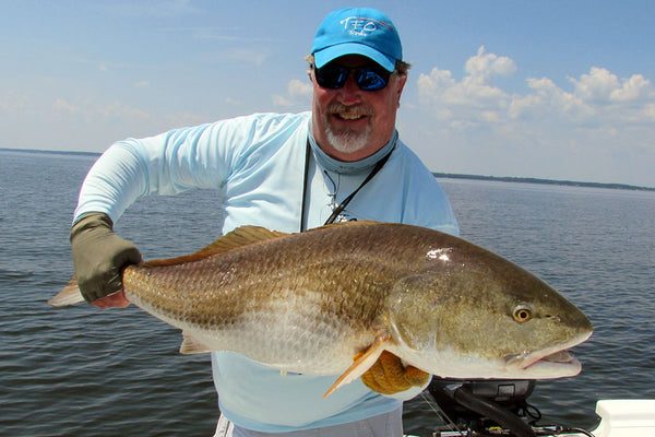 How to catch redfish on the fly with no visibility the 3 for How to fish for redfish