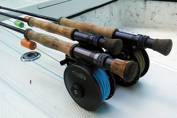 Fish-Skull Pop-N-Fly TFO fly rod