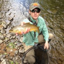 Andrew Loffredo of Trout Unlimited, Fall streamer fly fishing: 3 tips for more strikes