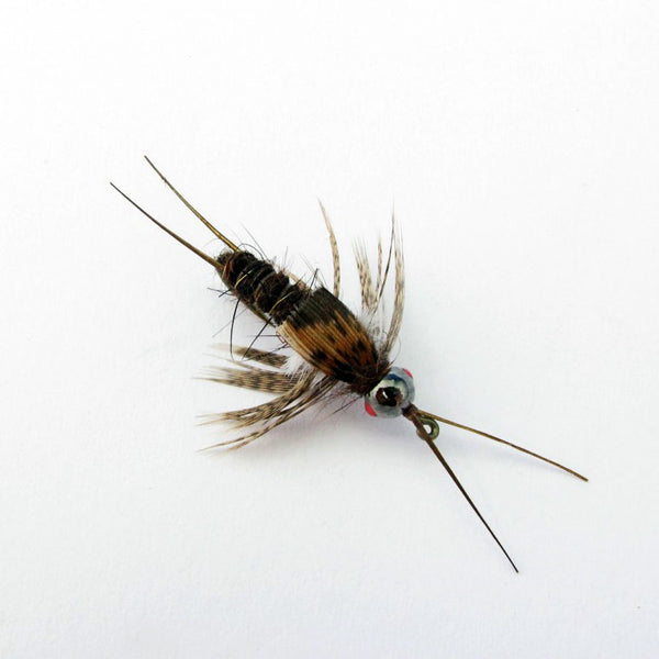 Bill Chandler's Voodoo Stonefly Nymph - Fly tying instructions