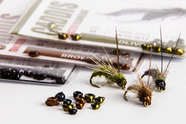 Nymph-Head Evolution Caddis tungsten beadheads