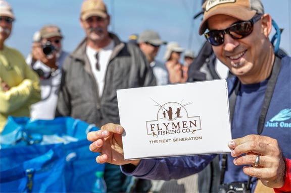 One Surf Fly beach fly fishing tournament Flymen