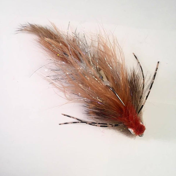 Sculpin silhouette streamer fly