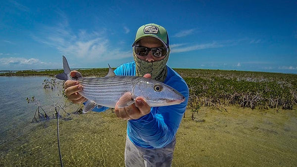 John Mauser fly fishing bahamas bonefish