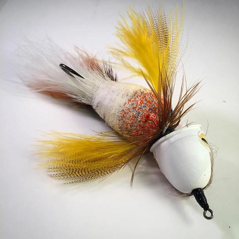 Gunnar Brammer Surface Seducer Baby Bird fly tying