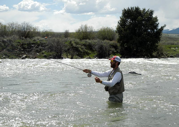 Fly fishing river etiquette