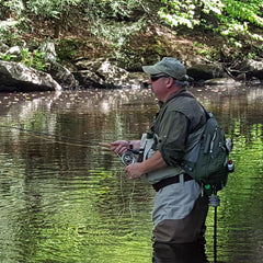 Stephen Babbitt fly fishing guide Connecticut