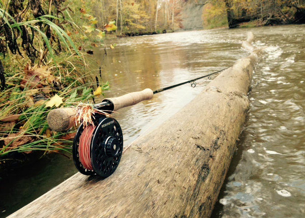 Reddington fly rod stream