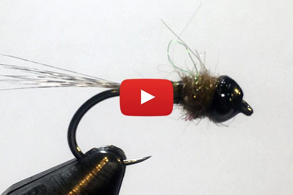 3-minute fly: Tie quill body flies