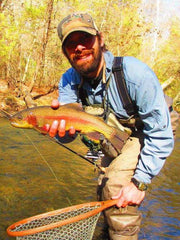 Ryan Kaufman, fly fishing guide Headwaters Outfitters