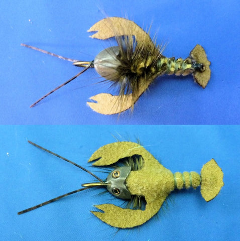 Fish-Skull Skull Daddy Crayfish fly tying instructions step 26