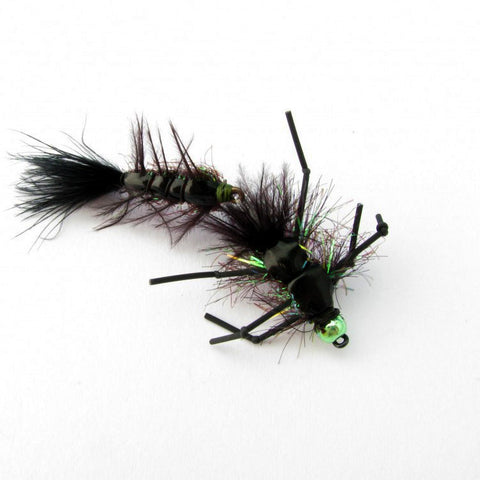 Steve Wascher's Stone-A-Mite Wiggler - Fly tying instructions