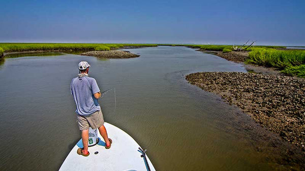The Lowdown On Fly Fishing For Late Summer Low Tide Redfish