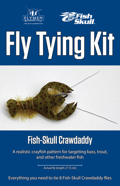 NEW Fly Tying Kit: Fish-Skull Crawdaddy
