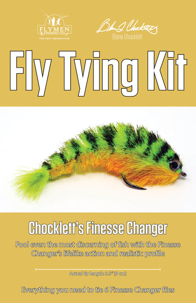 NEW Fly Tying Kit: Chocklett's Finesse Changer