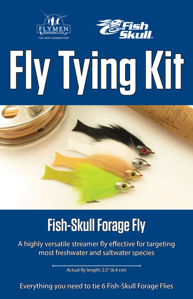 NEW Fly Tying Kit: Fish-Skull Forage Fly
