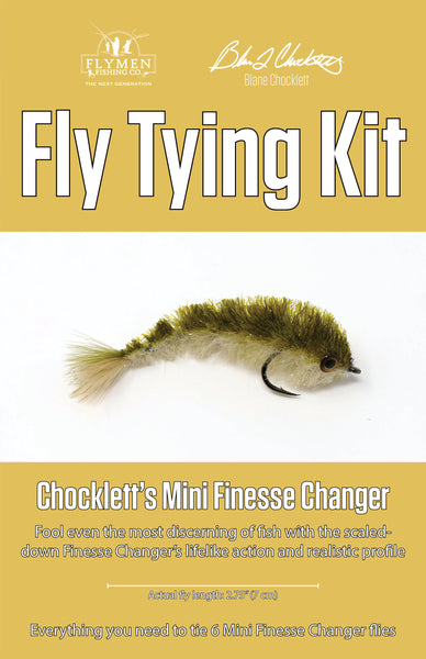 NEW Fly Tying Kit: Chocklett's Mini Finesse Changer