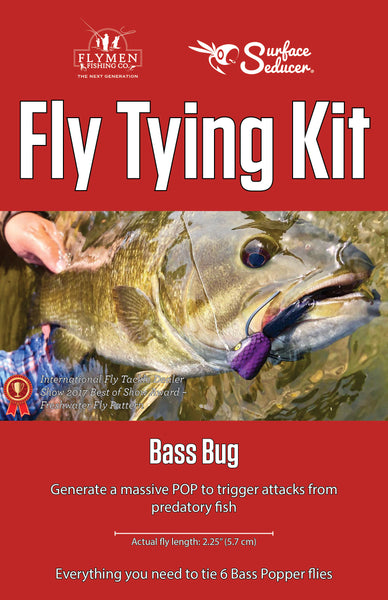 NEW Fly Tying Kit: Surface Seducer Bass Bug