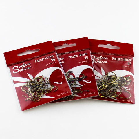 Surface Seducer® Popper Hooks