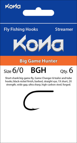 Kona Big Game Hunter (BGH) hook