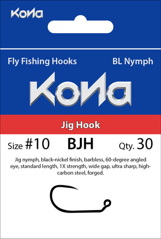 Kona Barbless Jig Hook (BJH) hook