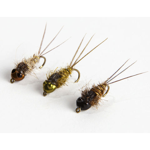 Evolution Clinger mayfly nymph - Fly tying instructions