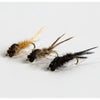 Nymph-Head® Evolution™ Mayfly Swimmer & Burrower tungsten beadheads - Flymen Fishing Company  - 6