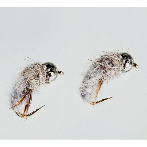 Nymph-Head® Heavy Metal™ Caddis Larva - Flymen Fishing Company  - 3