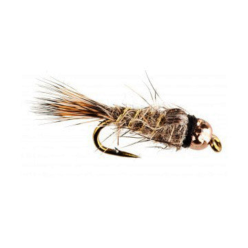 Nymph-Head® Heavy Metal™ Hare's Ear - Flymen Fishing Company  - 1