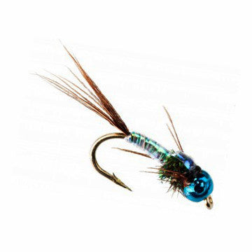 Nymph-Head® Heavy Metal™ Lightning Bug - Flymen Fishing Company  - 2