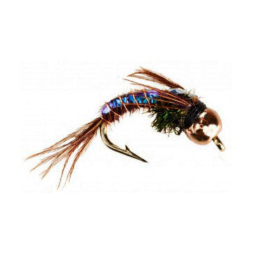 Nymph-Head® Heavy Metal™ Pheasant Tail Flashback - Flymen Fishing Company  - 1