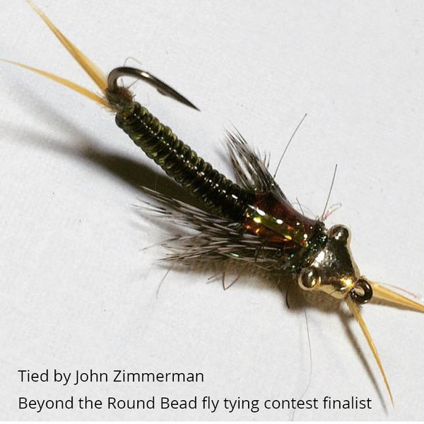 Nymph head evolution stonefly tungsten beadheads for Feather craft fly fishing