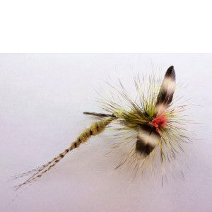 Nymph head articulated wiggle tail shank flymen for Feather craft fly fishing