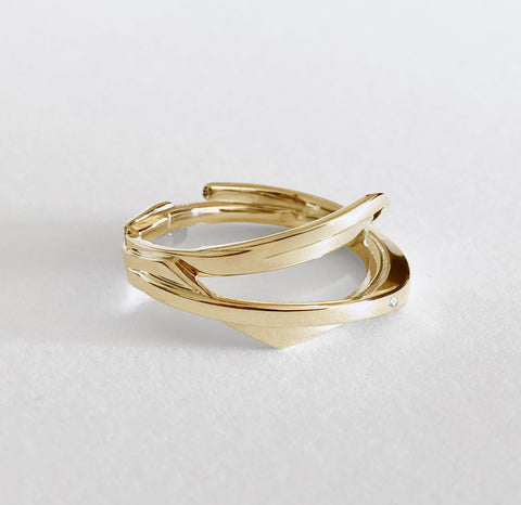 'Lumina' Gold Band