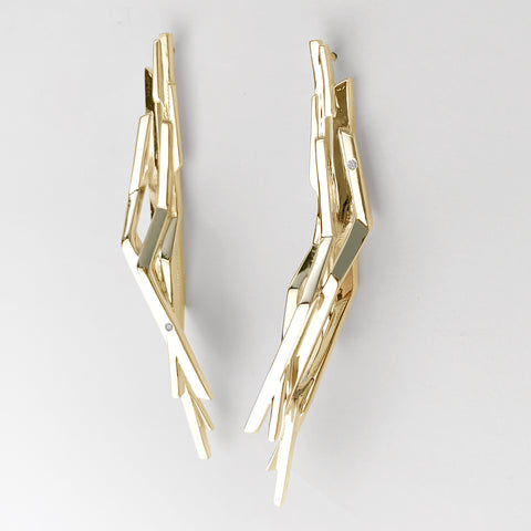 'Lumina' Gold Earrings