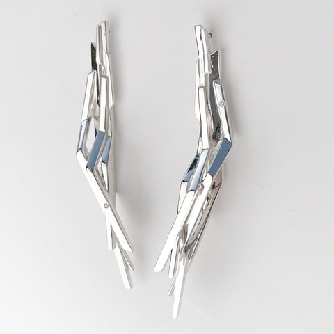 'Lumina' Silver Earrings