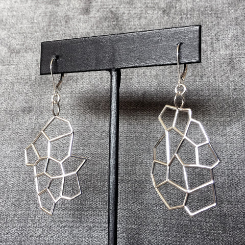 'Tess' Silver Earrings