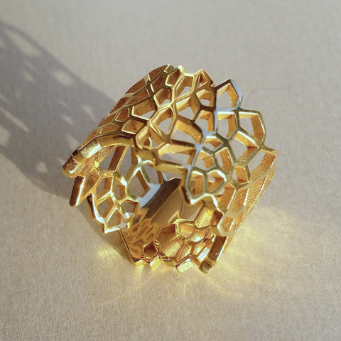 'Tess' Ring (Gold Vermeil)