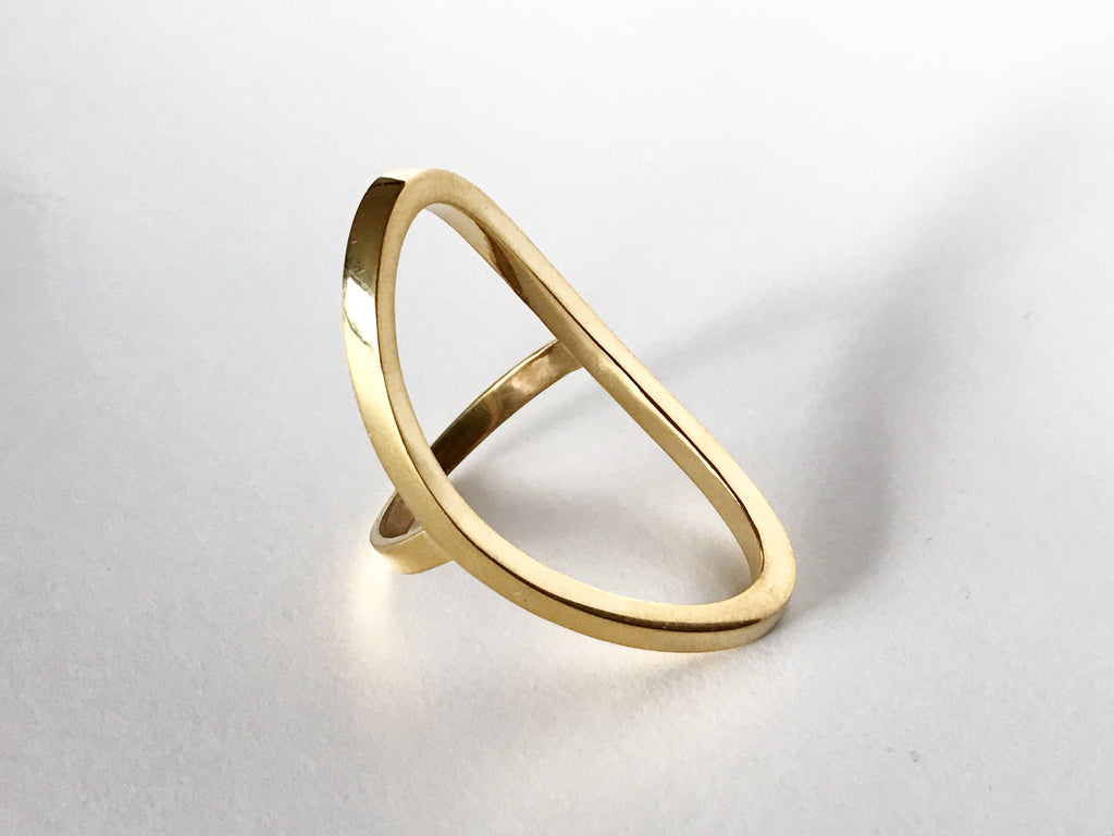 'Ellipse' Ring