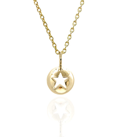 'Icon Punched Star' Pendant