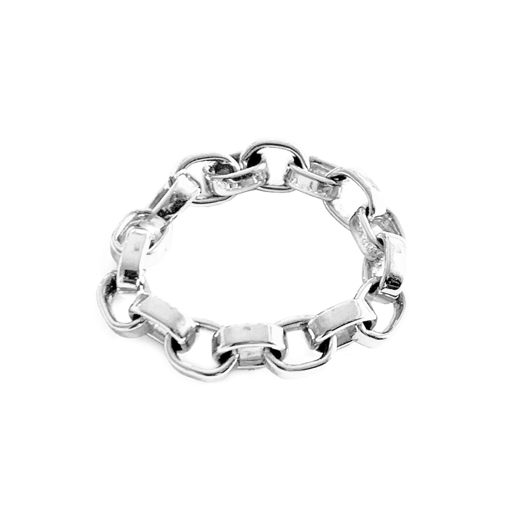 'Linked' Silver Ring