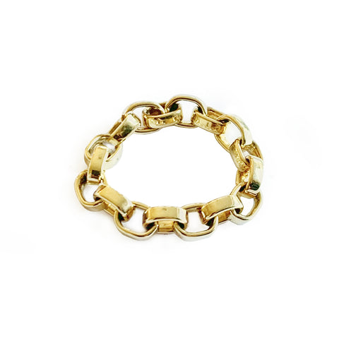 'Linked' Gold Ring