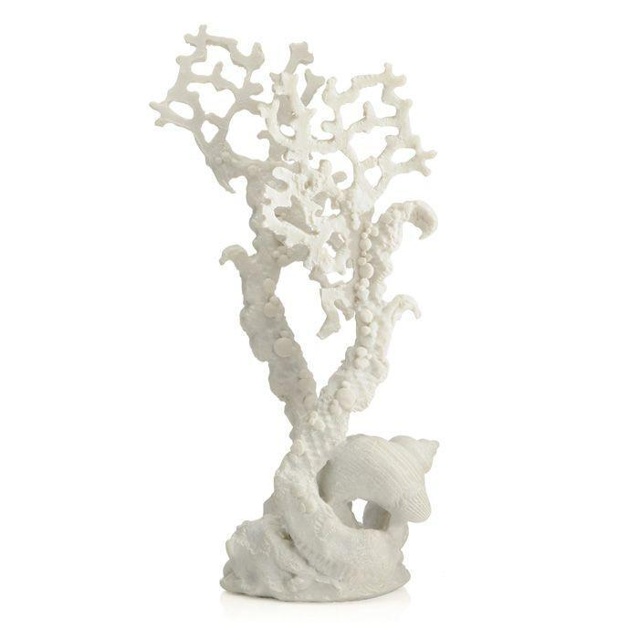 biOrb Fan Coral Ornament - White