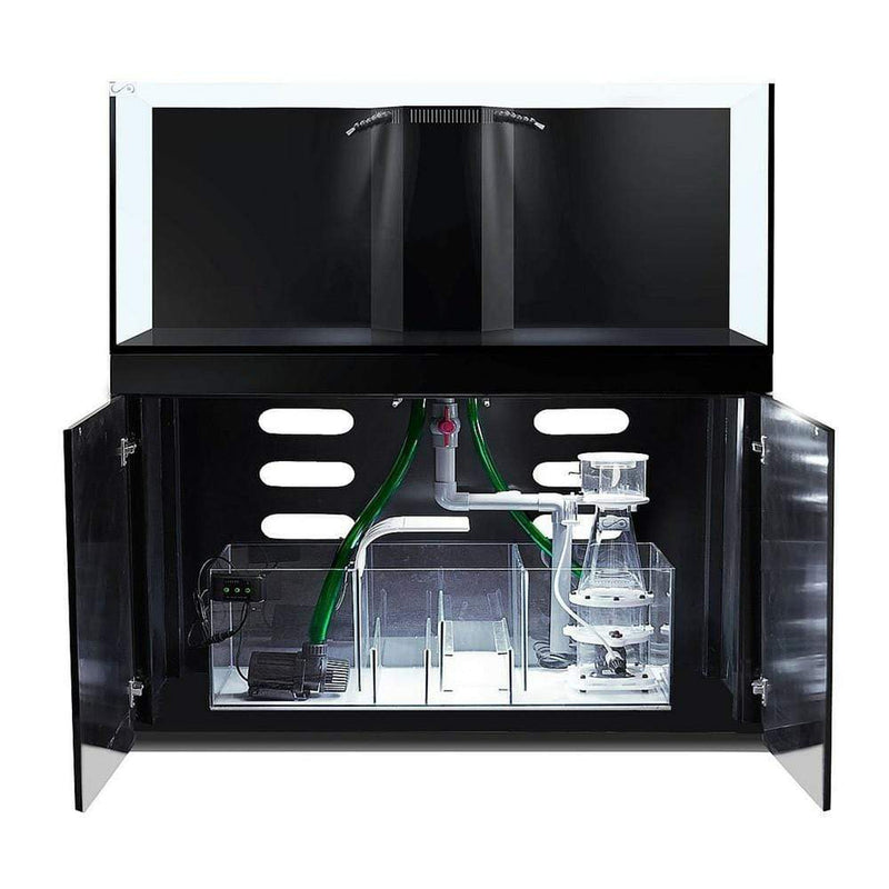CAD Lights 125 Gallon Artisan II Professional Reef System with Maple Piano Cabinet, Glass (18125-ART)