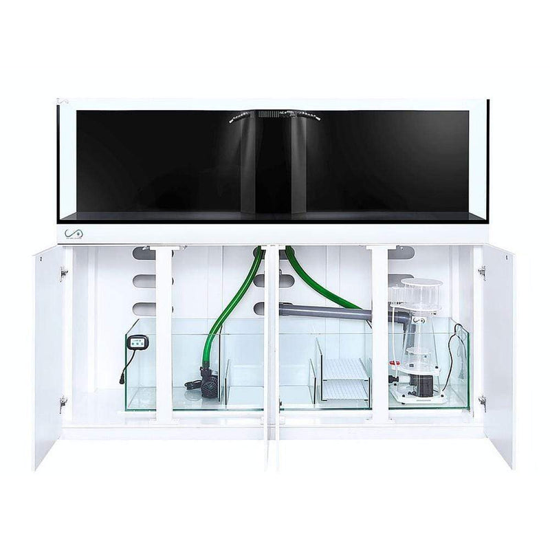 CAD Lights 165 Gallon Artisan II Professional Reef system with Maple Piano Cabinet, Glass (18140-ART)