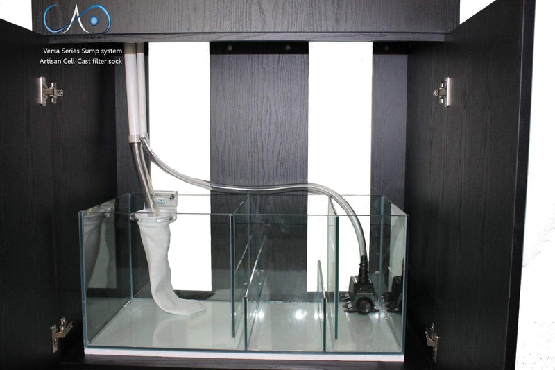 CAD Lights 68 Gallon Versa Glass Aquarium with MDF Cabinet (68GVS)