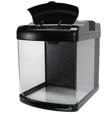 JBJ 12 Gallon Nano Cube - Fresh or Saltwater Glass Aquarium (MT-408-LED)