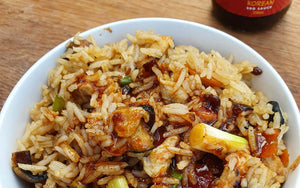 Chicken Fried Rice with Korean BBQ Sauce | FireFly Barbecue