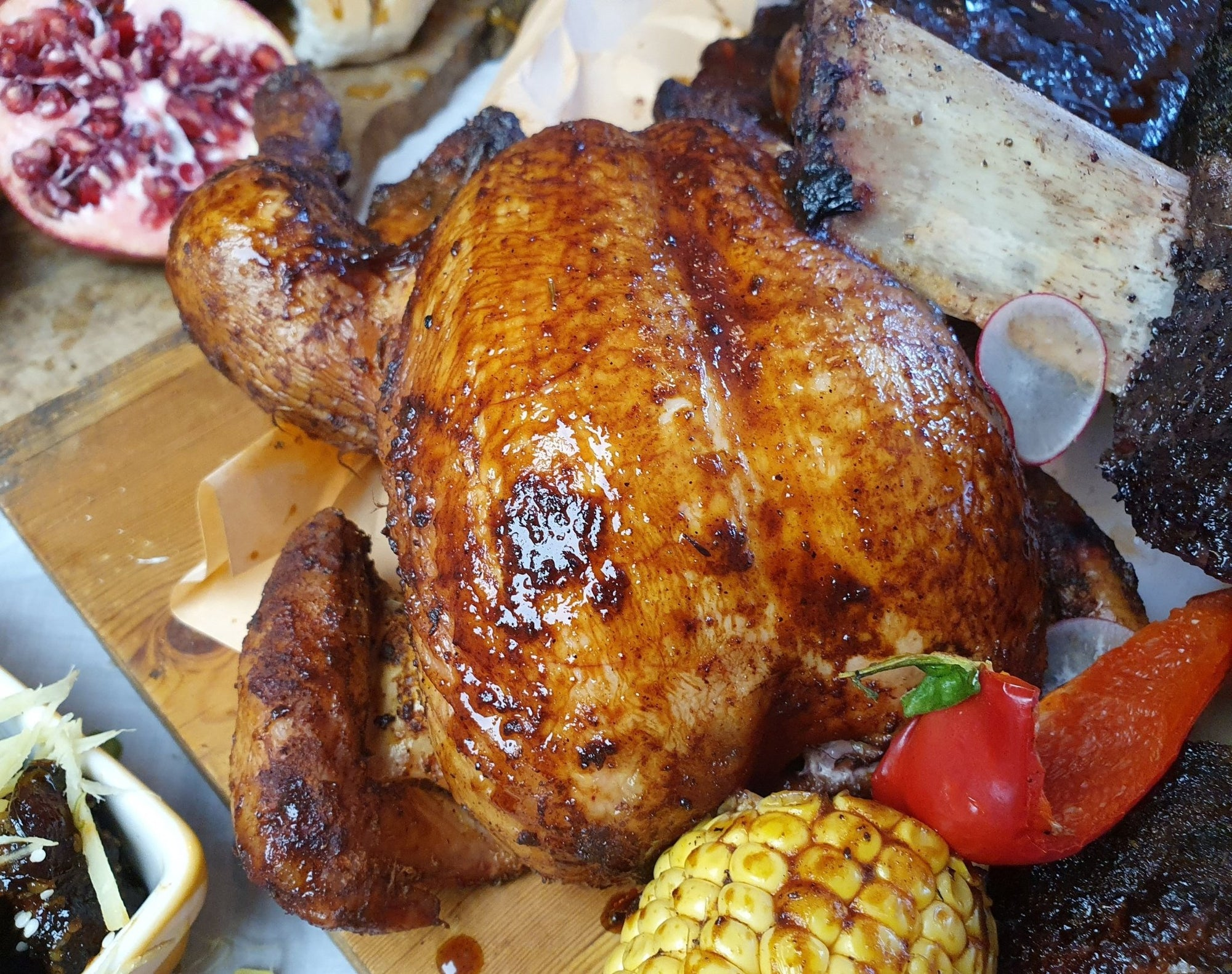 No place like home  whole chicken | FireFly Barbecue