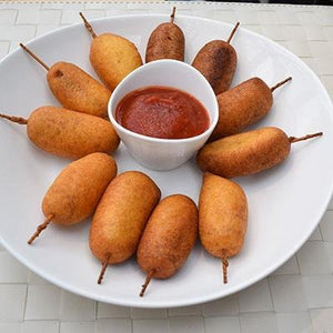 Perfect Party Corn dogs | FireFly Barbecue